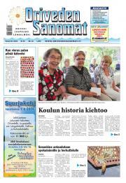 Oriveden Sanomat 24.07.2014