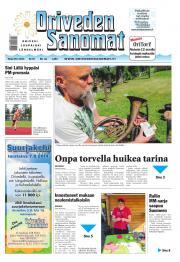 Oriveden Sanomat 29.07.2014