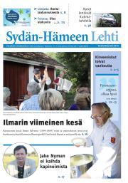 Sydän-Hämeen Lehti 30.07.2014