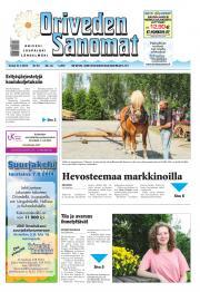 Oriveden Sanomat 31.07.2014