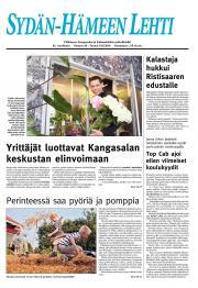 Sydän-Hämeen Lehti 20.08.2010