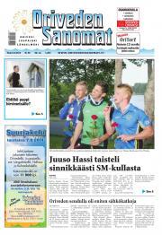 Oriveden Sanomat 05.08.2014