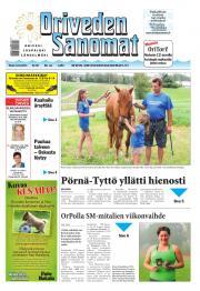 Oriveden Sanomat 12.08.2014
