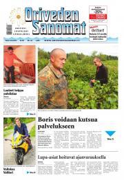 Oriveden Sanomat 19.08.2014
