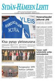 Sydän-Hämeen Lehti 27.08.2010
