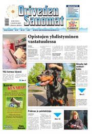 Oriveden Sanomat 21.08.2014