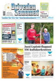 Oriveden Sanomat 26.08.2014
