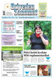 Oriveden Sanomat 28.08.2014