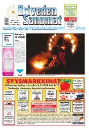 Oriveden Sanomat 02.09.2014