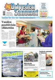 Oriveden Sanomat 11.09.2014