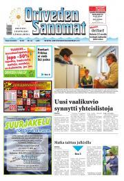 Oriveden Sanomat 16.09.2014