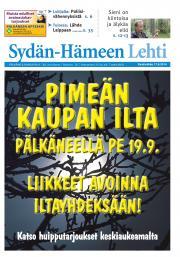 Sydän-Hämeen Lehti 17.09.2014