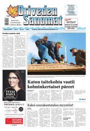Oriveden Sanomat 30.09.2014