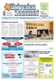 Oriveden Sanomat 14.10.2014