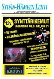 Sydän-Hämeen Lehti 17.09.2010