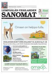 Lempäälän-Vesilahden Sanomat 29.10.2014