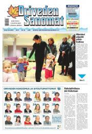 Oriveden Sanomat 30.10.2014