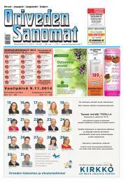 Oriveden Sanomat 05.11.2014