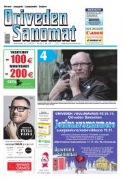 Oriveden Sanomat 12.11.2014