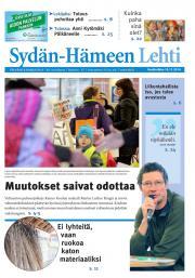 Sydän-Hämeen Lehti 19.11.2014