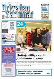 Oriveden Sanomat 26.11.2014