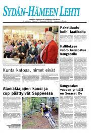 Sydän-Hämeen Lehti 12.10.2010
