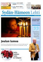 Sydän-Hämeen Lehti 23.12.2014