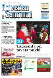Oriveden Sanomat 23.12.2014