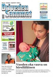 Oriveden Sanomat 08.01.2015