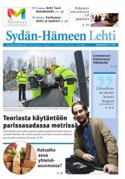 Sydän-Hämeen Lehti 21.01.2015