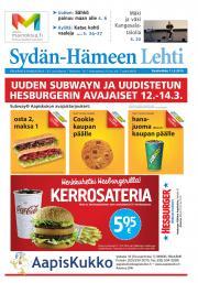 Sydän-Hämeen Lehti 11.03.2015