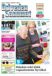 Oriveden Sanomat 11.03.2015