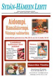 Sydän-Hämeen Lehti 03.12.2010