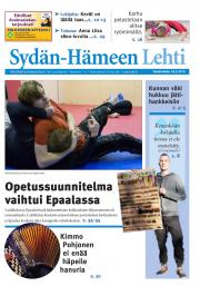Sydän-Hämeen Lehti 18.03.2015