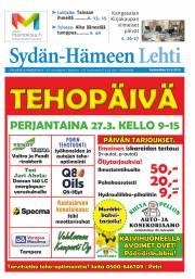 Sydän-Hämeen Lehti 25.03.2015