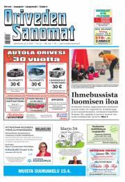 Oriveden Sanomat 25.03.2015