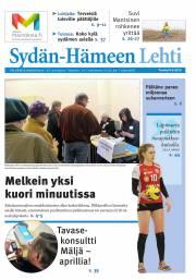 Sydän-Hämeen Lehti 09.04.2015