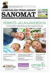 Lempäälän-Vesilahden Sanomat 09.04.2015