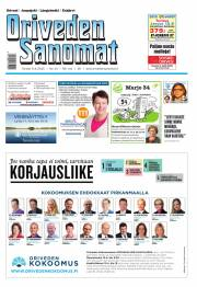 Oriveden Sanomat 09.04.2015