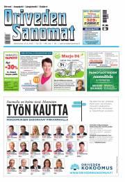 Oriveden Sanomat 15.04.2015