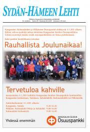 Sydän-Hämeen Lehti 21.12.2010