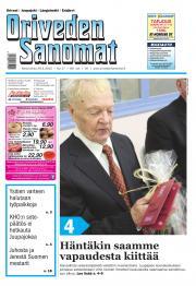 Oriveden Sanomat 29.04.2015
