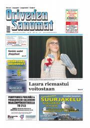 Oriveden Sanomat 20.05.2015