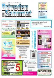 Oriveden Sanomat 27.05.2015