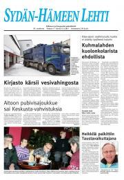 Sydän-Hämeen Lehti 14.01.2011
