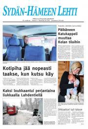 Sydän-Hämeen Lehti 25.01.2011