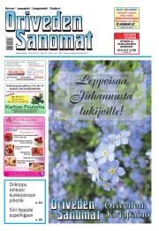 Oriveden Sanomat 17.06.2015