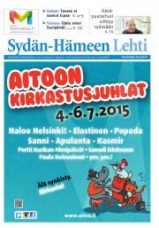 Sydän-Hämeen Lehti 24.06.2015