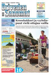 Oriveden Sanomat 22.07.2015