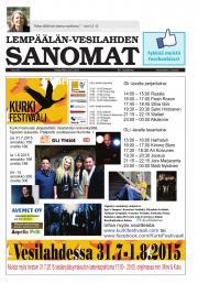 Lempäälän-Vesilahden Sanomat 29.07.2015